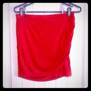 Victoria's Secret Ruched Mini Skirt